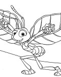 A Bug's Life Printable Coloring Pages