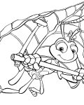 A Bug's Life Free Online Coloring Pages