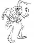 A Bug's Life Free printable coloring pages