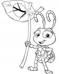 A Bug's Life Free Coloring Pages