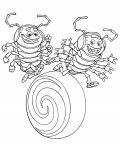 A Bug's Life Coloring Pages for Kids