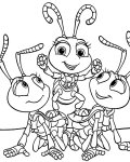 A Bug's Life Free coloring pages for boys