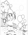 Adiboo Printable Tracing Coloring Page