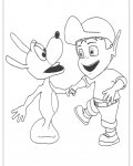 Adiboo Online Coloring Pages for boys