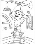 Adiboo Download coloring pages