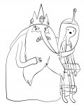 Adventure Time Printable coloring pages online