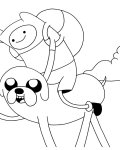 Adventure Time Download coloring pages