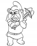 Adventures of the Gummi Bears Printable coloring pages for girls