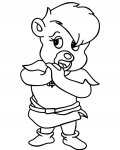 Adventures of the Gummi Bears Printable coloring pages online