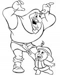 Adventures of the Gummi Bears Online Coloring Pages for boys