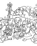 Adventures of the Gummi Bears Online Coloring Pages for girls
