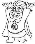 Adventures of the Gummi Bears Coloring page template printing