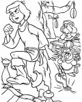 Adventures of the Gummi Bears Free coloring pages for boys