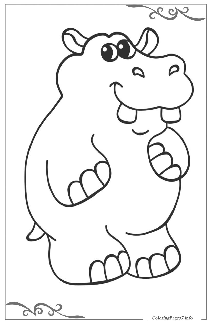 African animals online Coloring Pages for girls