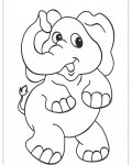 African animals Free coloring pages for boys