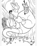 Aladdin Printable coloring pages for girls