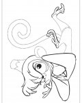 Aladdin Printable Tracing Coloring Page