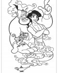 Aladdin Free printable coloring pages