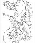 Alice's Adventures in Wonderland Coloring Pages for Kids