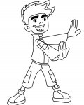 American Dragon: Jake Long Printable Coloring Pages