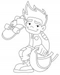 American Dragon: Jake Long Coloring Pages for boys