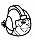 Angry birds Coloring Page for your Little Ones