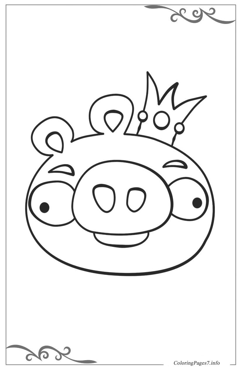 angry birds coloring pages girls - photo#23