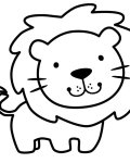 Animals Printable coloring pages for girls