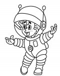 Astronauts Printable coloring pages online