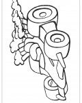 Automobiles Printable coloring pages for girls