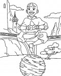 Avatar: The Legend of Aang Printable Coloring Pages