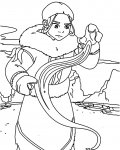 Avatar: The Legend of Aang Printable coloring pages for girls