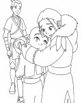Avatar: The Legend of Aang Online Coloring
