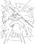 Avatar: The Legend of Aang Printable coloring pages online