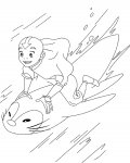 Avatar: The Legend of Aang Online Coloring Pages for boys