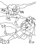 Avatar: The Legend of Aang Free Coloring Pages