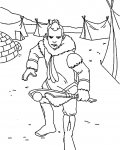 Avatar: The Legend of Aang Coloring Pages for Kids
