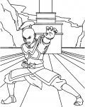 Avatar: The Legend of Aang Coloring page template printing