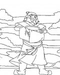 Avatar: The Legend of Aang Coloring Pages for boys