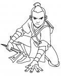 Avatar: The Legend of Aang Free coloring pages for boys