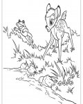 Bambi Coloring Page for your Little Ones
