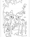 Bambi Printable coloring pages online