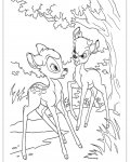 Bambi Free Online Coloring Pages