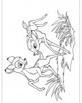 Bambi Online Coloring Pages for boys