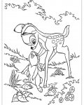 Bambi Free printable coloring pages