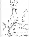 Bambi Free Coloring Pages
