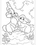 Bambi Coloring Pages for Kids