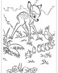 Bambi Coloring Pages for boys