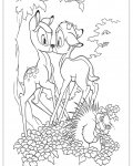 Bambi Free coloring pages for boys