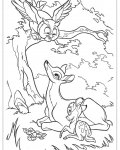 Bambi Download coloring pages